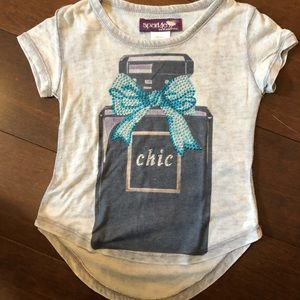 Sparkle by Stoopher rhinestone tee.  Size 2t